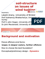 Dynamic soil-structure interaction issues of offshore wind turbines