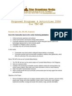 2004 - Proposed Activities