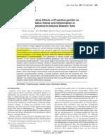 Ameliorative Effects of Proanthocyanidin on Oxidative Stress