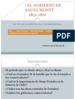 Gobierno de Manuel Montt