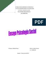 Ensayo Psicologia Social