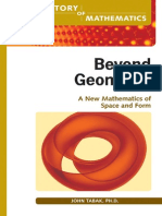 Beyond Geometry - A New Mathematics of Space and Form (the History of Mathematics)