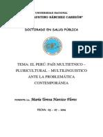 El Perú Es Un País Multilingue