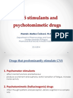 CNS Stimulants and Psychotomimetic Drugs