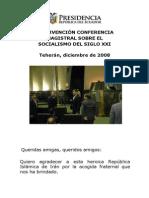 12-08-Conferencia Socialismo SigloXXI Iran