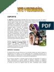 Deporte y Recreacion 2012
