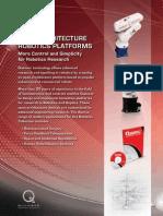 Quanser Robotics Platforms Brochure