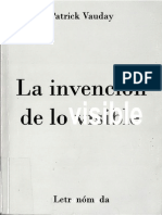 Patrick Vauday - La Invencion de Lo Visible