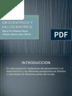Geocentrico y Heliocentrico