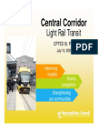 Central Corridor Light Rail Transit CPTED ST. Paul July 10, 2009