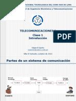 Telecomunicaciones - Clase 01 - Introducción