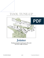 7 -Tuneup Jointer