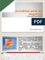 Excel 2010 - Introduccion