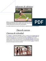 Fundamento de Atletismo