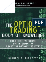 The Options Trading Body of Knowledge_ the Definitive Source for Information About the Options Indus - Michael C. Thomsett