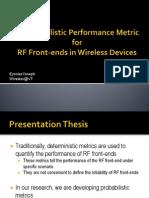 Cognitive RF Front-end