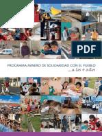 Memoria Programa Minero de Solidaridad Con El Pueblo