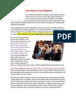 Como Atraer Alas Mujeres PDF