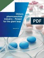 Kpmg China Pharmaceutical 201106