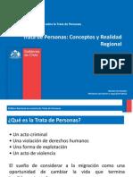 MITP - Trata de Personas Concepto y Realidad Regional