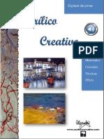 Libro de Pintura Con Acrilico