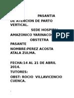 Plan de Capacitación e Implemetación c.s. Aparicio Pomares Atala
