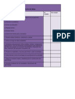 criterios de evaluacin para maqueta