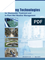 Emerging Technologies for Wastewater Treatment