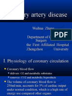 surgical management of coronary artery disease