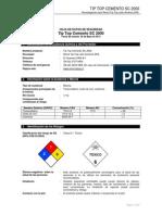 Hds_274 03-02 - Tip Top Cemento Sc 2000
