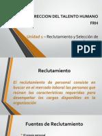 Unidad 1 - Reclutamiento y Selección de Personal