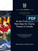 New Ideas of Charity Financing in Canada