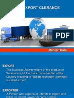 Mahesh Sea Export PPT