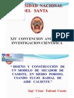 XIV Convenio Anual de Investigación Científica