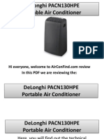 DeLonghi PACN130HPE Portable Air Conditioner Review