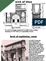 arch of roman