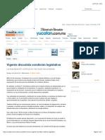 20-07-14 Vigente discutida condición legislativa.