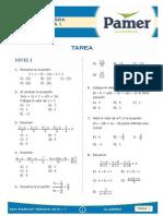 Álgebra Semana 1
