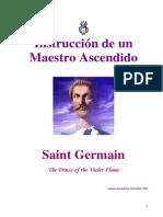 E-Book Saint Germain - Instrucción de Un Maestro Ascendido (159pp)