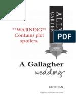 A Gallagher Wedding
