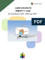 EInstruction AdjustItPro G2 Installation Guide