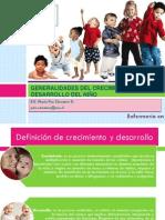 2. Generalidades Del Crecimiento y Desarrollo Del Niño