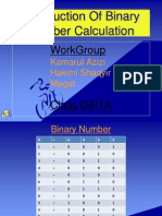 Introduction of Binary Calculation 2