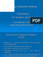 Gestational Diabetes Melitus