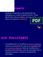 main pollutants in the out air