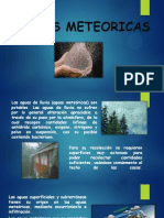 Aguas Meteoricas