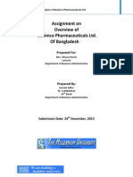 Assignment(1)Assignment on  Overview of    Beximco Pharmaceuticals Ltd.