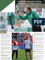Coaching Deportivo Para Equipos de Futbol Parte 2