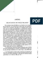 Sutherland Delitos Cuello Blanco Anexo Ladrones Profesionales