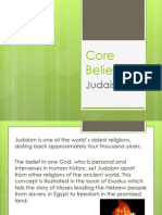 core beliefs judaism-2